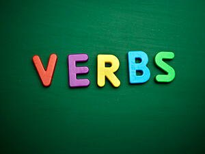 Verb tenses adding ed and ing